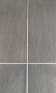 Grout Channels AFTER Colour Sealer GROUT PERFECT