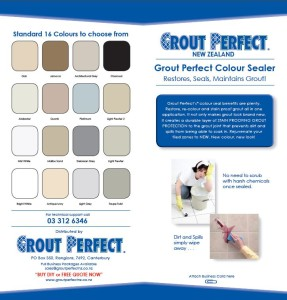 Grout Perfect Brochure Colours