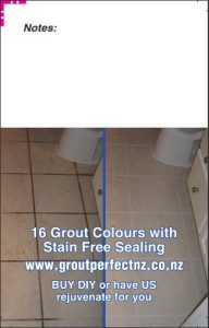 Grout Perfect NZ Generic B Card BACK